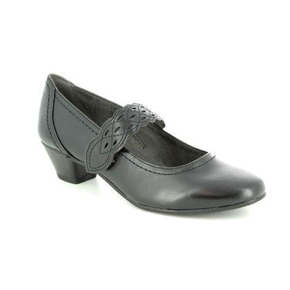 Jana Court Shoes - Black - 24360/22001 NEMEA 91