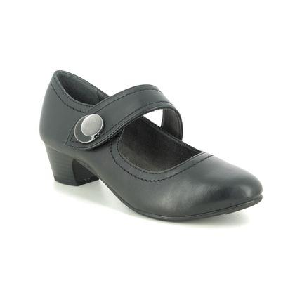 Jana Mary Jane Shoes - Black - 24362/25001 NEMEBUT