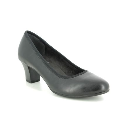 Jana Court Shoes - Black - 22463/24001 SALLY 1 H FIT