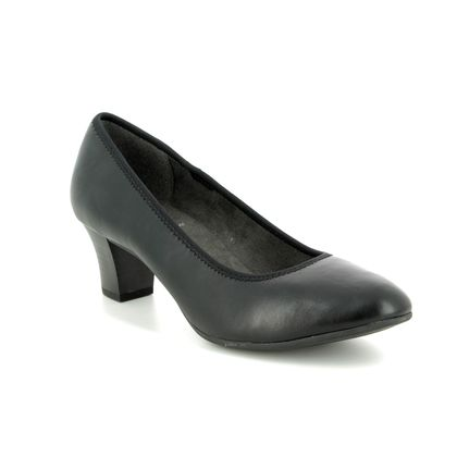 Jana Court Shoes - Black - 22463/22001 SALLY 91 H FIT
