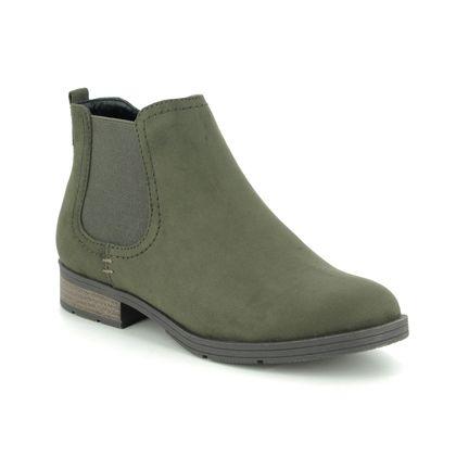 Jana Chelsea Boots - Green - 25376/23722 SUN H FIT