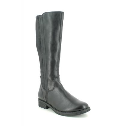 Jana Knee High Boots - Black - 25560/25001 SUSINA