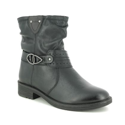 Jana Boots - Ankle - Black - 25413/23001 SUSPEENO H FIT