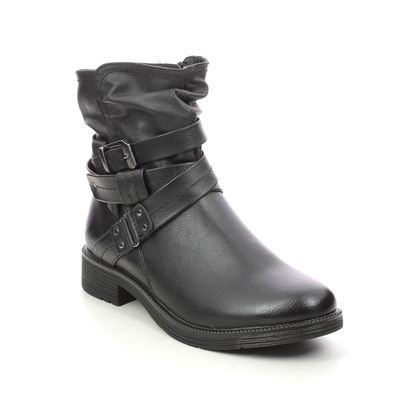 Jana Ankle Boots - Black - 25465/27001 SUSPEESTRA WIDE