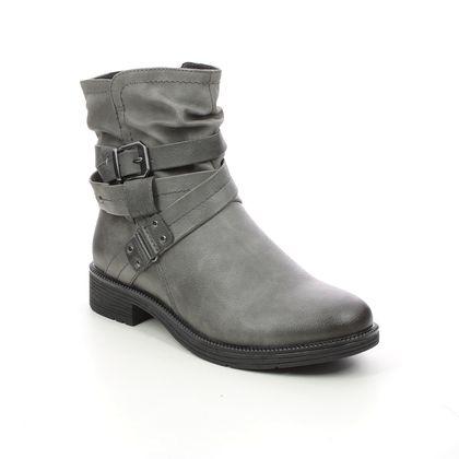 Jana Ankle Boots - Grey - 25465/27206 SUSPEESTRA WIDE