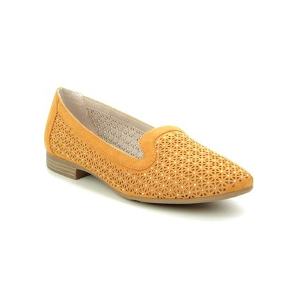 Jana Loafers and Moccasins - Yellow - 24265/24265 TABBY H FIT