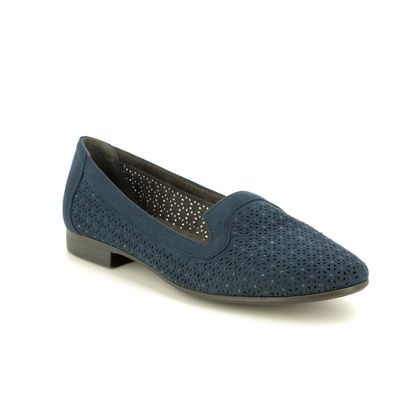 Jana Loafers and Moccasins - Navy - 24265/24805 TABBY H FIT