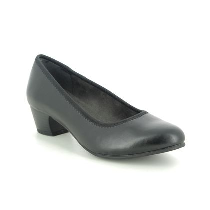 Jana Court Shoes - Black - 22360/25022 ZATORA