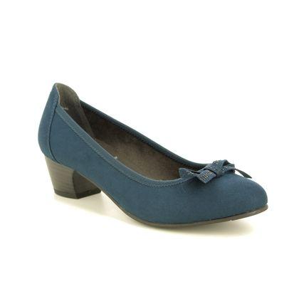 Jana Court Shoes - Navy - 22363/23805 ZATORABO H FIT
