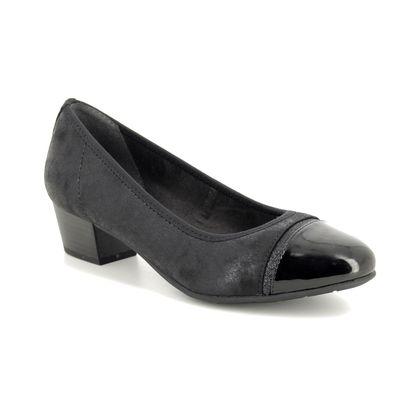 Jana Court Shoes - Black - 22300/23001 ZATORACAP H FIT