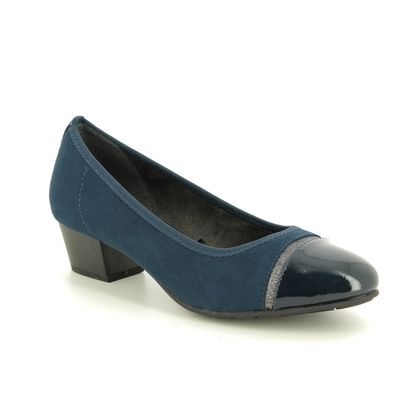 Jana Court Shoes - Navy - 22300/23805 ZATORACAP H FIT