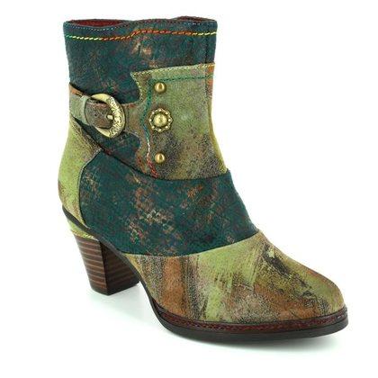 Laura Vita Fashion Ankle Boots - Khaki - 3001/90 AGATHE 43