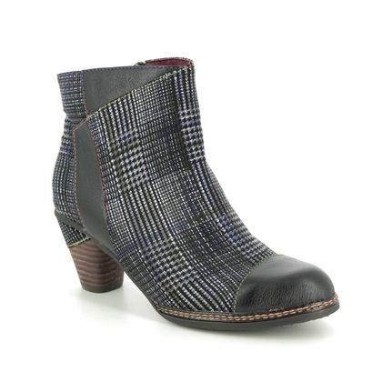 Laura Vita Boots - Ankle - Black leather - 9505/30 ALCIZEEO 06
