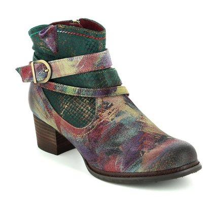 Laura Vita Fashion Ankle Boots - Khaki - 3003/90 ALEXIA 14