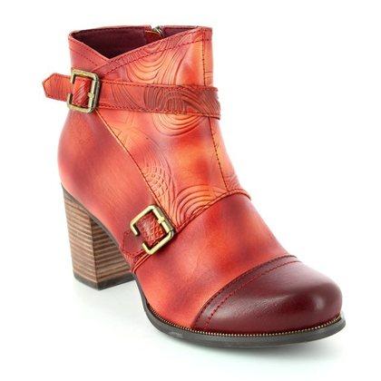 Laura Vita Fashion Ankle Boots - Wine - 2004/60 ANGELE 15 WINE