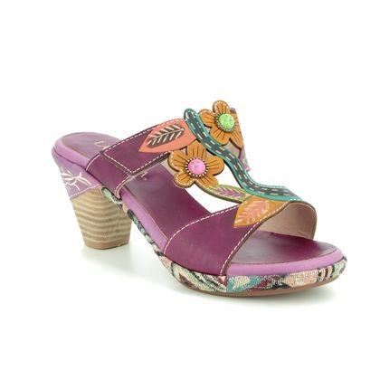 Laura Vita Heeled Sandals - Aubergine - 9102/40 BELFORT 09