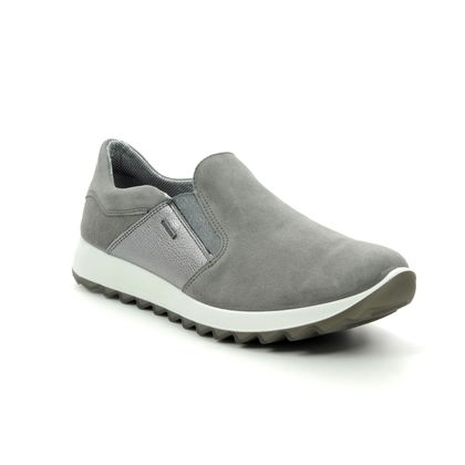 Legero Trainers - Grey Suede - 00524/26 AMATO 4.0 GORE