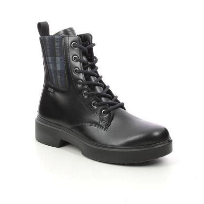 Legero Biker Boots - Black leather - 2000102/0200 ANGEL GTX
