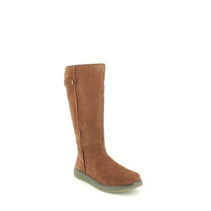 Legero Knee High Boots - Tan Suede - 2000657/3310 CAMPANIA HI GTX