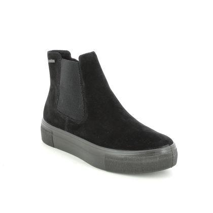 Legero Chelsea Boots - Black suede - 2009913/0000 LIMA CHELSEA