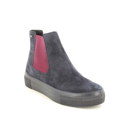 Legero Chelsea Boots - Navy suede - 2009913/8000 LIMA CHELSEA
