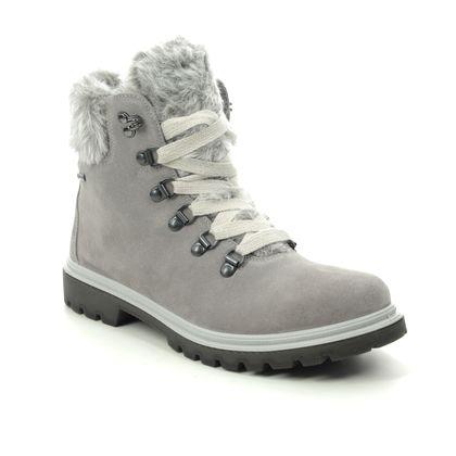 Legero Ankle Boots - Grey Suede - 2009662/2900 MONTA FUR GTX
