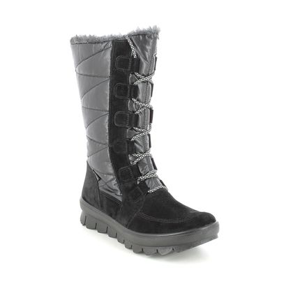 Legero Ankle Boots - Black suede - 2009901/0000 NOVARA HI GTX