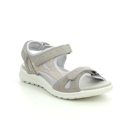 Legero Walking Sandals - Light Grey Nubuck - 0600732/2900 SIRIS