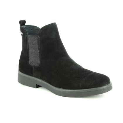Legero Chelsea Boots - Black Suede - 00684/03 SOANA GORE-TEX