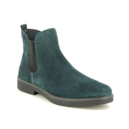 Legero Chelsea Boots - Petrol Suede - 00684/79 SOANA GORE-TEX