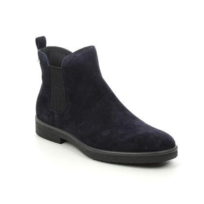 Legero Chelsea Boots - Navy suede - 2000684/8000 SOANA GORE-TEX