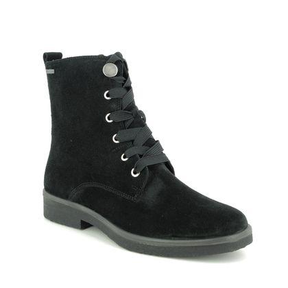 Legero Boots - Ankle - Black Suede - 09689/00 SOANA HI GORE