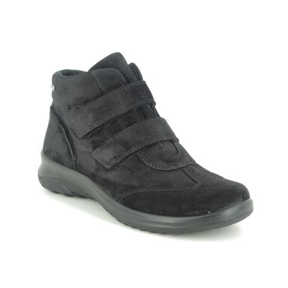 Legero Ankle Boots - Black Suede - 2009575/0000 SOFTBOOT GTX