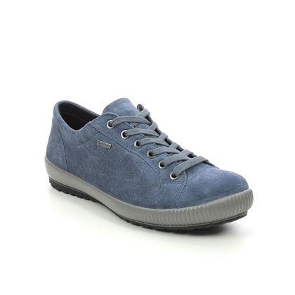 Legero Comfort Lacing Shoes - Blue Suede - 2000613/8600 TANARO 4.0 GTX