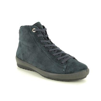 Legero Ankle Boots - Navy suede - 09615/80 TANARO 4 HI GTX