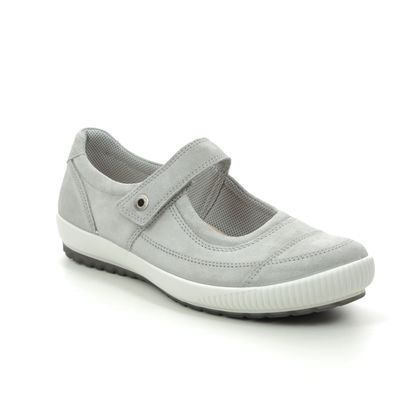 Legero Mary Jane Shoes - Light Grey Suede - 00822/25 TANARO BAR