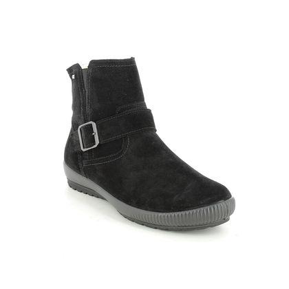 Legero Ankle Boots - Black suede - 2009603/0000 TANARO BUCK GTX