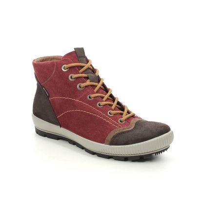 Legero Walking Boots - Red suede - 2000123/5100 TANARO GTX TREK