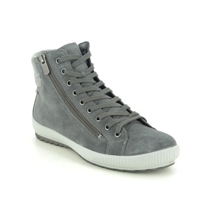 Legero Lace Up Boots - Grey-suede - 2009614/2200 TANARO HI GORE