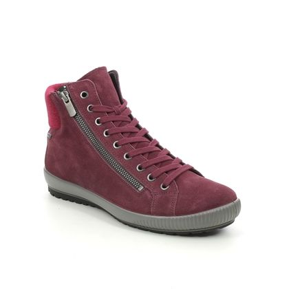 Legero Lace Up Boots - Red suede - 2009614/5000 TANARO HI GORE
