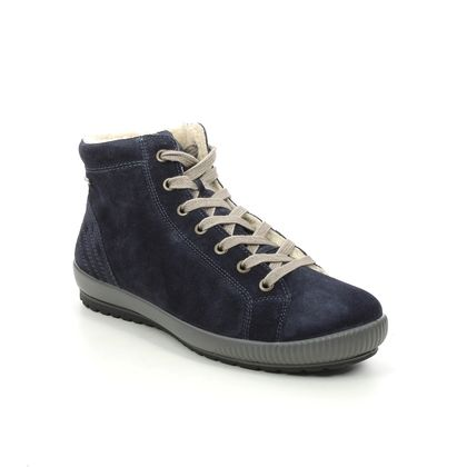 Legero Ankle Boots - Navy suede - 2000619/8000 TANARO HI GORE