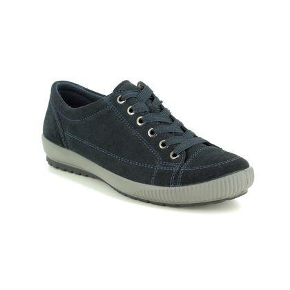 Legero Comfort Lacing Shoes - Navy Suede - 00820/80 TANARO STITCH