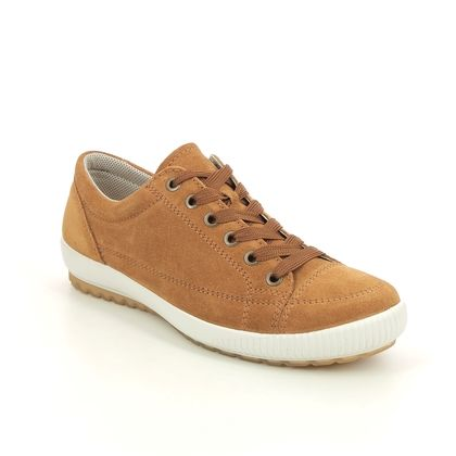 Legero Comfort Lacing Shoes - Tan Suede - 0600820/3000 TANARO STITCH