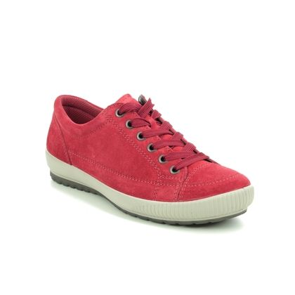 Legero Comfort Lacing Shoes - Red suede - 00820/50 TANARO STITCH 2