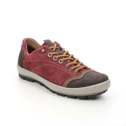 Legero Walking Shoes - Red suede - 2000122/5100 TANARO TREK GTX