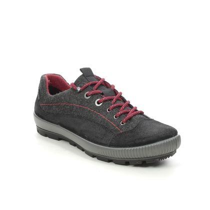 Legero Walking Shoes - Black suede - 2000124/0000 TANARO TREK GTX