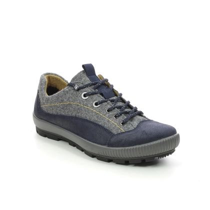 Legero Walking Shoes - Navy Suede - 2000124/8000 TANARO TREK GTX