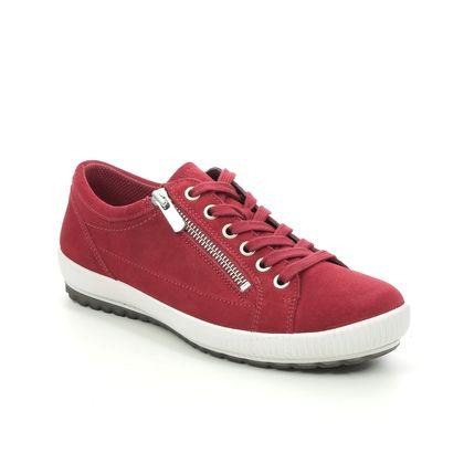 Legero Comfort Lacing Shoes - Red suede - 00818/50 TANARO ZIP