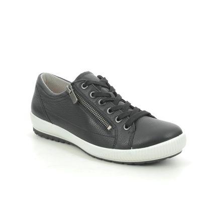 Legero Comfort Lacing Shoes - Black leather - 0600818/0100 TANARO ZIP