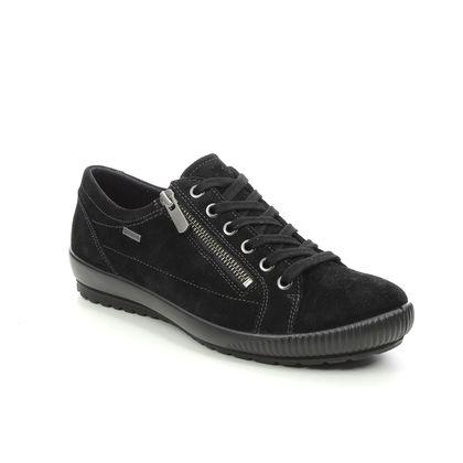 Legero Comfort Lacing Shoes - Black suede - 00616/00 TANARO ZIP GTX